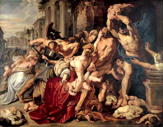 Rubens le massacre des innocents 1609 11